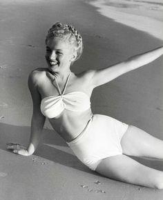 Marilyn Monroe Photograph by Andre de Dienes.