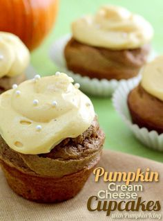 Yes and yes.  Pumpkin + cream cheese in a SIMPLE recipe, with a homemade pumpkin frosting!!!  YUMMMMY!!