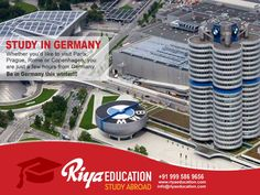 Abroad Education in Germany- Whether you would like to visit Paris, Prague, Rome or Copenhagen, you are just a few hours from Germany.Students who wish to study in Germany get in touch with Riya Education.   #business #Europe #consultants  #eu  #higher education #tthiruvalla #kerala #india #foreign #free
