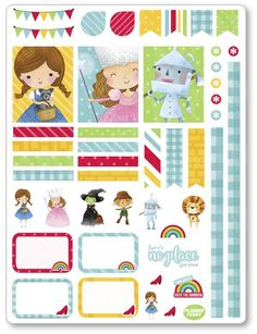 New product: Oz Decorating Kit...! Get it here: http://www.plannerpenny.com/products/oz-decorating-kit-weekly-spread-planner-stickers?utm_campaign=social_autopilot&utm_source=pin&utm_medium=pin