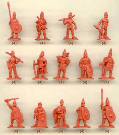 Strelets - Dacians Before Battle  -They kind of look like gnomes with their hats.