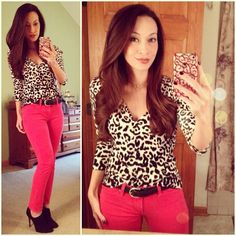 Snow Leopard & Red: #whbm #leopard #cardi, #rockandrepublic #skinnies #kohls, #solesociety #helena #booties #ootd #fallstyle #wiwt #fashion #fashionista #whatiwore #lookoftheday #instafashion #instastyle #igfashion #igstyle #mystyle #currentlywearing #instalook #hapa #followme #stylediaries