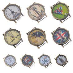 Vintage Steampunk Watch Face Bronze Tone for Watch Jewellery Making Craft DIY | eBay