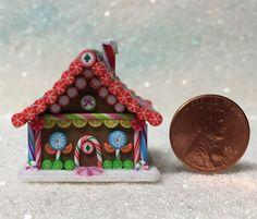 Hansel & Gretel Style Dollhouse Miniature by EmilyFarmerMiniBears