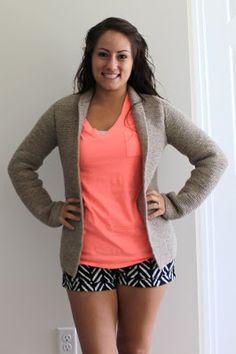 Easy Knit! Open Cardigan free pattern link