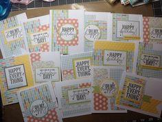 Zoe cards designed by Jamie Holm #zoe #ctmh #happyeverything