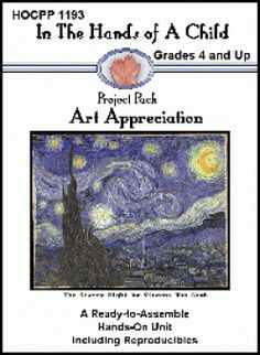 Art Appreciation Lapbook - Hands of a Child |  | The ArtsCurrClick