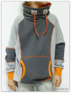 Cowled sweatshirt for men Sewing For Kids, Baby Sewing, Mens Sweatshirts, Hoodies, 30 Outfits, Stylish Boys, Mode Hijab, Athleisure, Boy Fashion