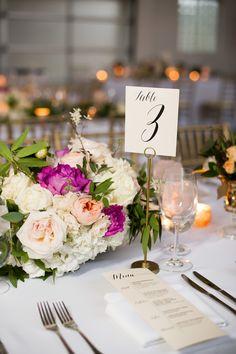 Pretty summer florals for the elegant wedding. #MammothWeddings