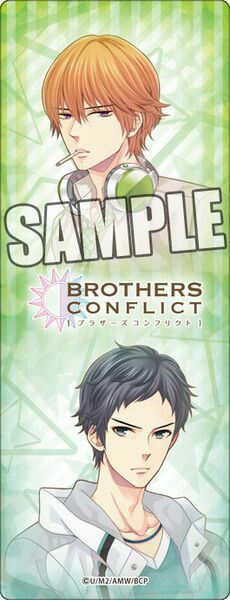 Natsume & Subaru (Brothers Conflict)