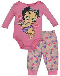 c44cffb0b1 Betty Boop Daisy bodysuit and Leggings Set