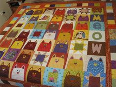 Val Spiers Sews: Finished the Catnip Quilt
