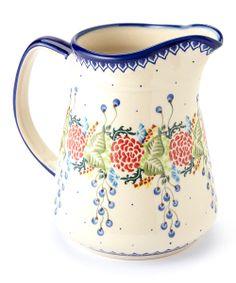 Polish pottery, so pretty.