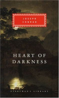 "Joseph Conrad, Heart of Darkness. ""...it was written I should be loyal to the nightmare of my choice."""
