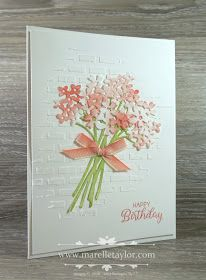 Stampin' Up! Ombre Blossoms, beautiful Bouquet