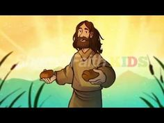 John 6 Bread of Life Bible Video for Kids (John 6:22-71): Part one of the Sharefaith Kids I AM lesson series, the bread of life finds Jesus surrounded by a hungry crowd looking for a miracle. But Jesus declares that he is the miracle! It is Jesus alone who can satisfy the spiritual hunger of the human heart. Featuring award-winning artwork and powerful narration this bread of life kids Bible video is not to be missed. Biblical and inspiring your kids are going to love it!
