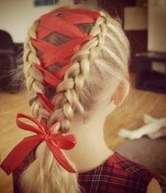 The African Braid with Crown Look