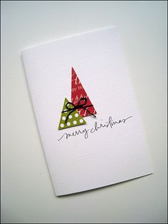 DIY Christmas Card - Simple and cute!