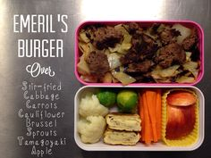 Beef and cabbage bento in Monbento #paleo #whole30