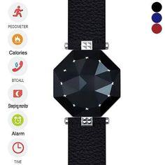 Photo: Novuelle Montre connectée Supporte multi-fonction  Bluetooth Smart Sapphire Ecran LED Montre pour IOS/Android Phone http://www.tinydeal.com/fr/bluetooth-40-px252l7-p-140963.html