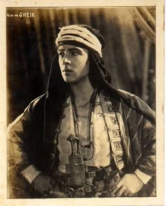 Rudolph Valentino  The Son of the Sheik 1926