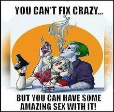 My life. Just realized Joker is a Taurus. They're kinda boring. It surprised me that Joker is wild but the rest fits. I have yet to meet a wild Taurus. Dark Love Quotes, Harley And Joker Love, Nananana Batman, Daddys Lil Monster, Horror, Joker Quotes, Joker Meme, Dali Quotes, Marvel Quotes