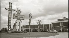 A picture of the Thunderbird Motel in Now called Ramada MSP Airport at Mall of America, the hotel will be demolished as soon as this summer. Miss Minnesota, Feeling Minnesota, Minnesota Home, Minneapolis St Paul, Minneapolis Minnesota, Whitewater Kayaking, Canoeing, Minnesota Historical Society, Canoes