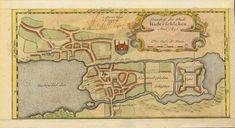 """""""Grundriss der Stadt Haderschleben Anno 1651"""". Plan of city of Haderslev, Denmark). Hand-colored opper etching dated 1651 and published in Johannes Mejer atlas of Schleswig and Holstein. Husum, 1652. Original antique print  For a 30% discount enter MAPS30 at chekout Upper, lower and right margins have been added. Nex Antique Maps, Antique Prints, House Map, Hand Coloring, Denmark, Living Room Designs, Vintage World Maps, City, Antiques"""