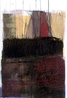 Resa Blatman, Moody / 2003 / mixed media on paper / 27 x 22 inches