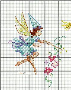Fairy Tiny Cross Stitch, Cross Stitch Fairy, Cross Stitch Angels, Cross Stitch For Kids, Cross Stitch Needles, Cross Stitch Charts, Cross Stitch Patterns, Cross Stitching, Cross Stitch Embroidery