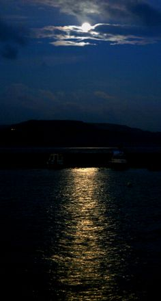 Lyme Regis Bay by Moonlight Lyme Regis, Ocean Deep, Jurassic Coast, Wedding Locations, Oceans, Devon, Mother Nature, Moonlight, Darkness
