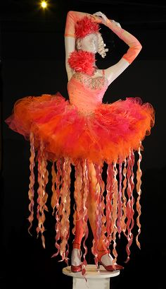 "SWEET!! ~ ""Rainbow fairy costume fromOnce Upon a Time, 2011-12, FIDM Museum & Galleries    Once Upon a Time's costume designer Eduardo Castro and assistant costume designer Monique McRay have been nominated for the 2012 Emmy for Outstanding Costume Design.  I don't watch the show, so I don't know if this costume was from this year or last year.  It's very unique, though."""