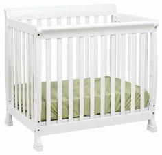 I think this is the one to go for: Amazon.com: DaVinci Kalani Mini Crib, White: Baby