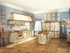 The classic luxury kitchens with original motifs by RESTART