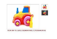 Trem Infantil Desmontavel c/Ferramentsas