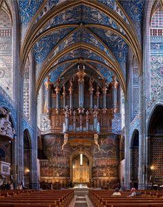 Albi Cathedral (Cathédrale Sainte-Cécile d'Albi) Place Sainte-Cécile, Albi, France