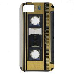 iPhone 5 Retro Old School Case Throw Back Cassette iPhone 5 Cases
