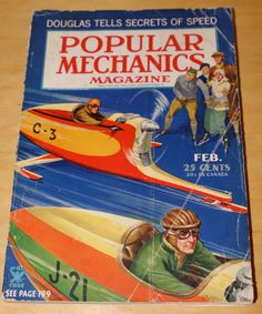 February 1935 Popular Mechanics with by WillmoreCityVintage