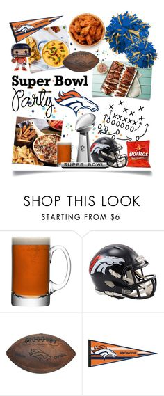 """Game On! Super Bowl Party! Go Broncos!"" by ittie-kittie ❤ liked on Polyvore featuring interior, interiors, interior design, home, home decor, interior decorating, LSA International, Stance, broncos and DenverBroncos"