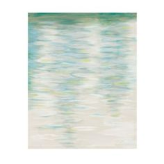 Rest go lee from Ballard design- This impressionist-style print instills a sense of calm. A serene palette of blues, greens and creams meld together to create the appearance of ripples in water.