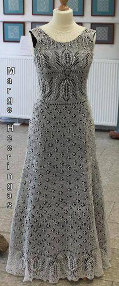 Formal Dresses For Weddings, Special Dresses, Crochet Woman, Crochet Lace, Knit Skirt, Knit Dress, Wedding Dress Patterns, Crochet Wedding, Handmade Dresses