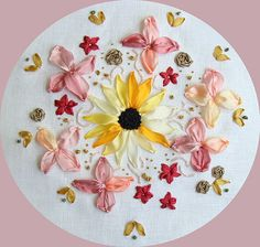 Silk ribbon embroidery is a smart, yet - very simple embroidery technique! Description from sovushka.com.ua. I searched for this on bing.com/images