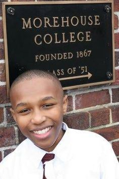 YOUNG, GIFTED, AND BLACK! Thirteen year old with triple major at the top all boys HBCU- Morehouse College-  At thirteen years of age, Stephen Stafford is causing quite a stir at Morehouse College. Stafford has a triple major in pre-med, math and computer science. Though he loves playing video games and playing his drum set, he is no typical teenager.