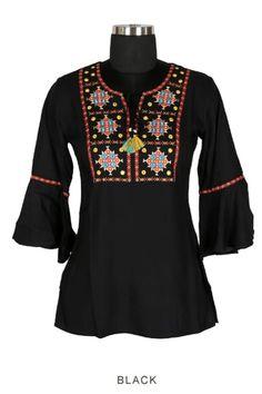Catalog No : 13982 Call Or Whatsapp On +91 9377709531 #wholesaledealer #bulksupplier #bulkdealer #bulkmanufacturer #topsexporter #topmanufacturer   #stylish #dailywear #officewear #embroiderytop #cottontop #fancytop #factoryrates #worldwide   #ebulking College Wear, Fancy Tops, Stylish Tops, Office Wear, Daily Wear, Casual Wear, Catalog, Blouse, How To Wear