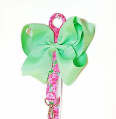 Hey, I found this really awesome Etsy listing at https://www.etsy.com/listing/467225157/pink-and-mint-green-hair-bow-holder-plus