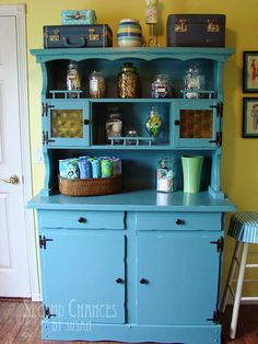 My Sewing Studio: The Blue Hutch