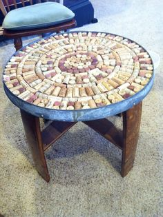 Bon Cork Table Top Wine Cork Table