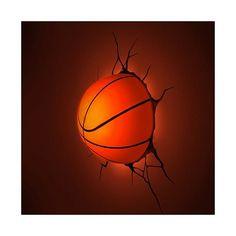 3D Lamp - Basketbal