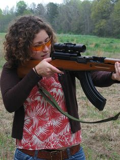 Woman on the Range - Home Defense Gun