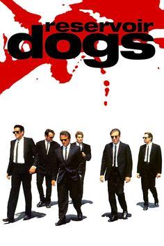 """Reservoir Dogs"" A Quentin Tarantino movie with Harvey Keitel Tim Roth Steve Buscemi Chris Penn Michael Madsen. Quentin Tarantino, Tarantino Films, Reservoir Dogs Poster, Pulp Fiction, Steve Buscemi, Gangster, Bon Film, Dog Poster, Film Serie"